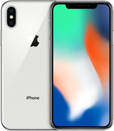 iPhone X 64GB SILVER ( Mỹ - LL/A )