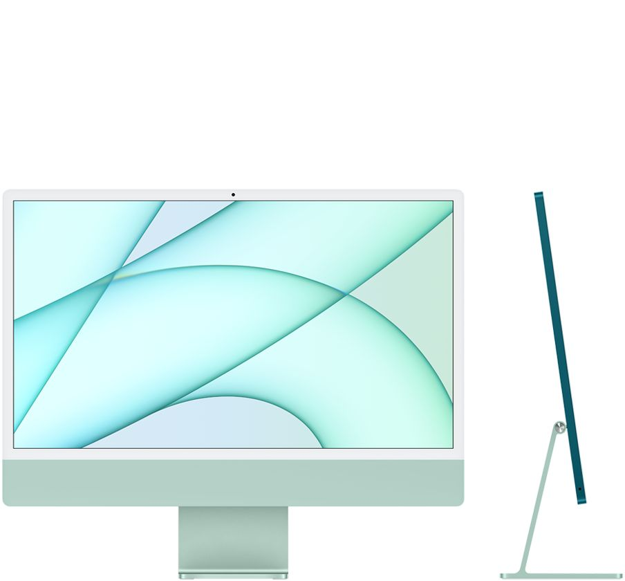 "iMac 2021 24"" M1 8GPU 256GB Green"
