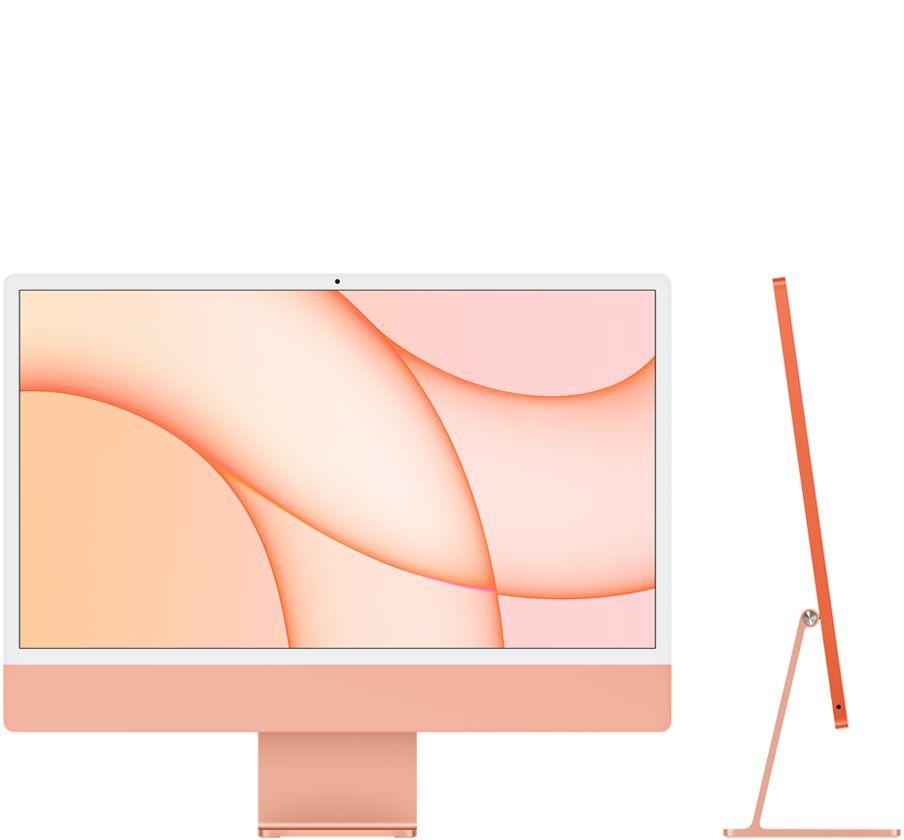 """iMac 2021 24"""" M1 8GPU 512GB Orange"""