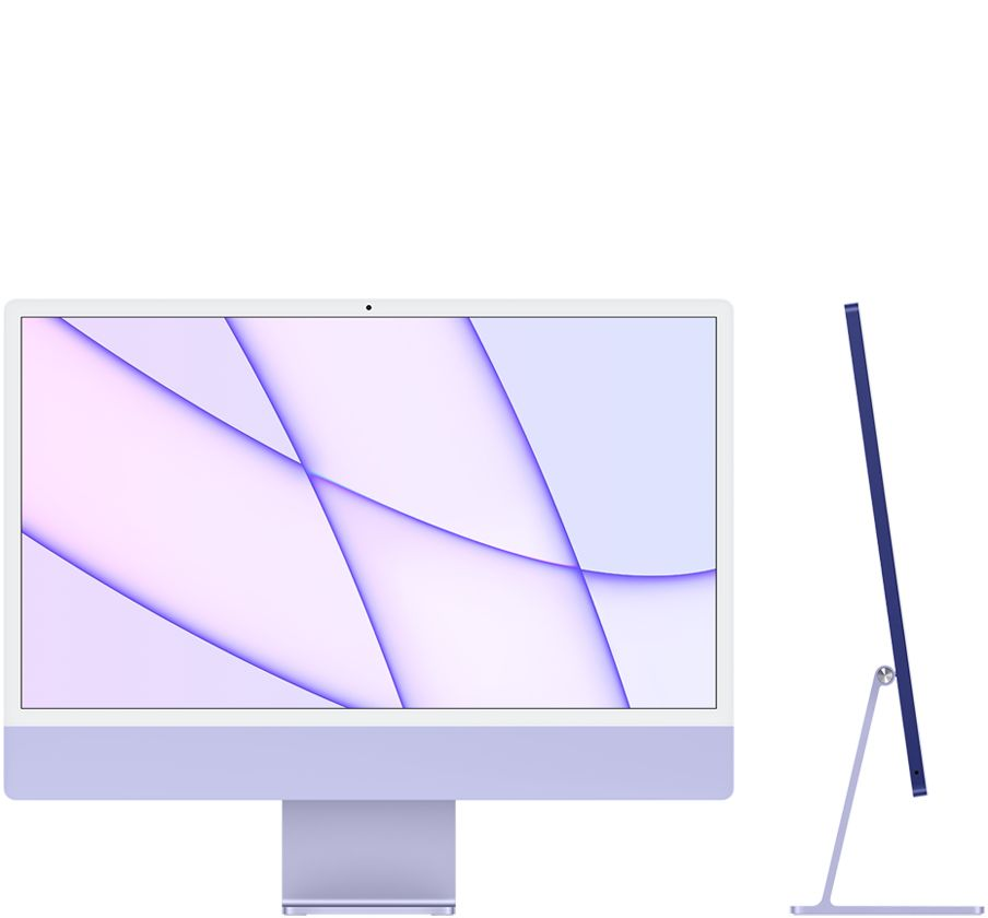 "iMac 2021 24"" M1 8GPU 256GB Purple"