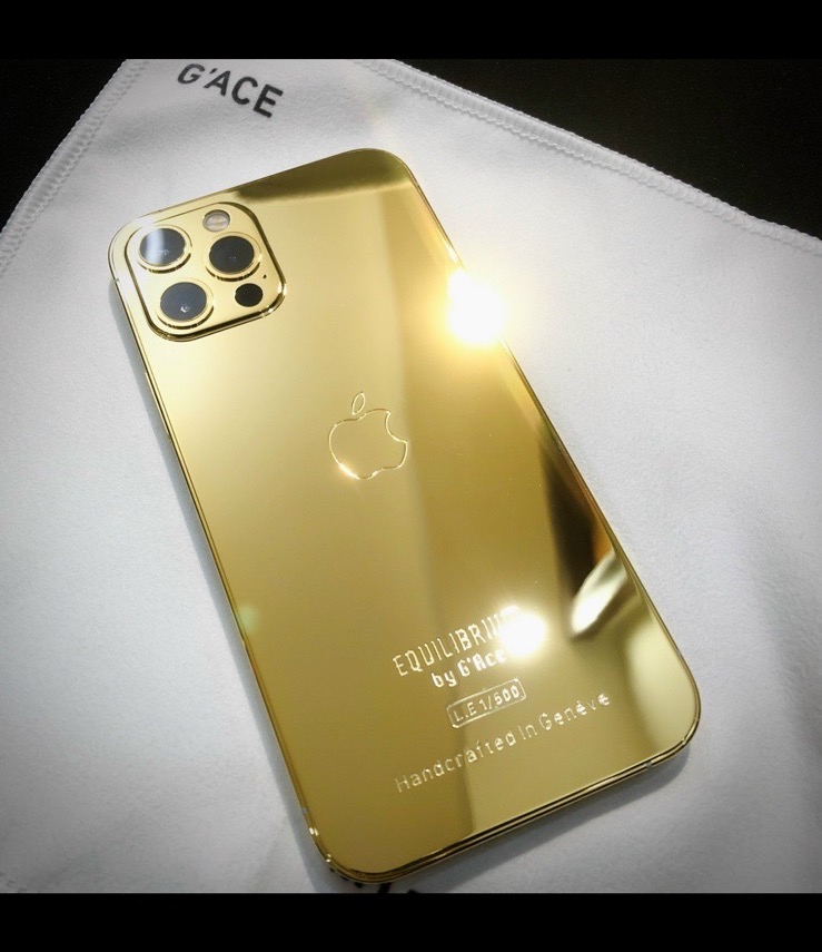 iPhone 12 Pro Full GOLD Edition ( Limited 500 ) - EQUILIBRIUM 500