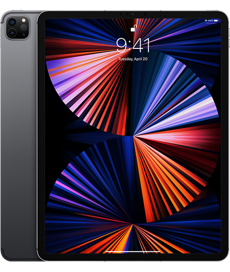 iPad Pro 12.9 2021 LTE Space Gray 128GB