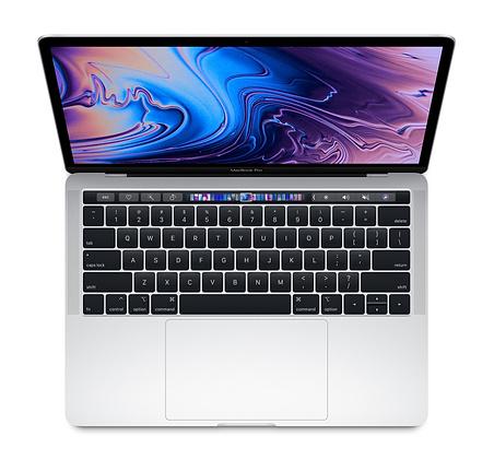 "Macbook Pro 13.3"" 2018 Silver 256GB MR9U2 ( Mỹ - LL/A )"