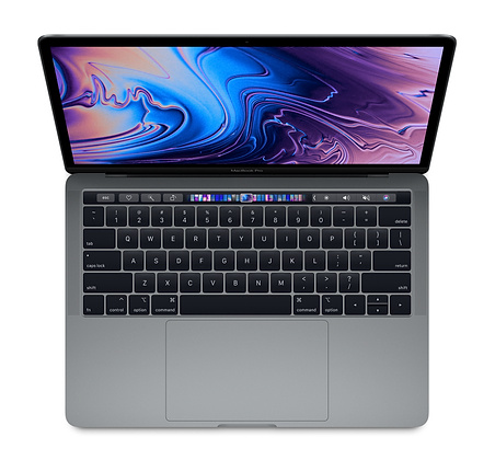 "Macbook Pro 13.3"" 2018 Space Gray 256GB MR9Q2 ( Mỹ - LL/A )"