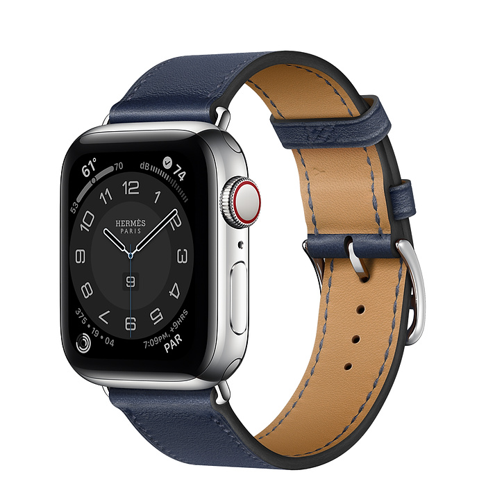 Apple Watch 6 Hermès 40mm Silver Stainless Steel Case with SingleTour