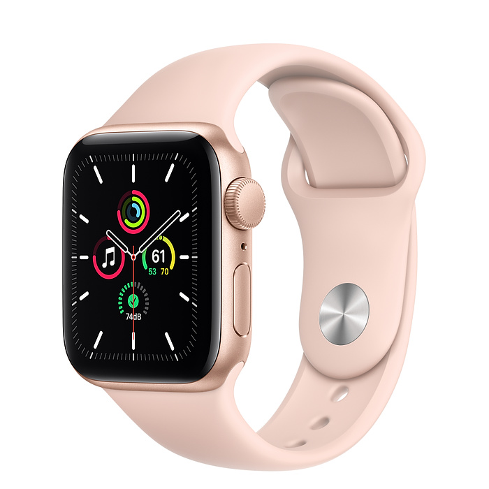 Apple Watch SE GPS 40mm Gold / Pink Sport Band MYDY2