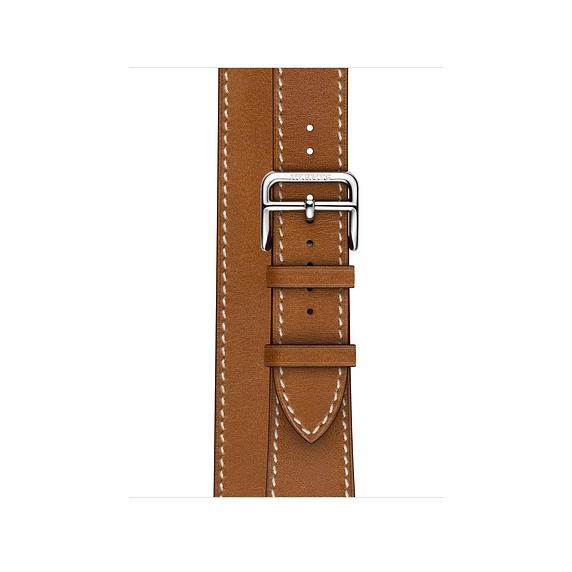 Dây Hermès - 40mm Fauve Barénia Leather Double Tour ( Chính hãng )