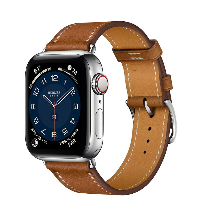 Apple Watch 6 Hermès 40mm Silver Stainless Ste Case With Single Tour