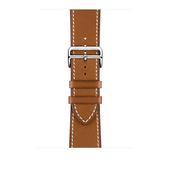 Dây Hermès - 44mm Fauve Barénia Leather Single Tour Deployment Buckle ( Chính hãng )