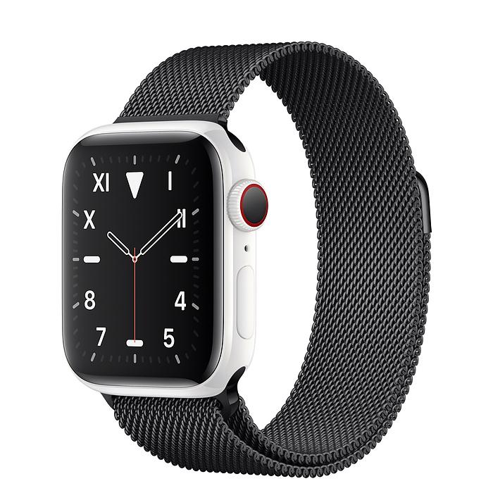 Apple Watch 5 Ceramic 40mm With Space Black Milanese Loop