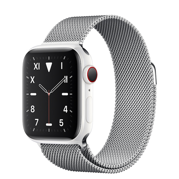 Apple Watch 5 Ceramic 40mm With Milanese Loop