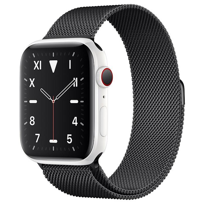 Apple Watch 5 Ceramic 44mm With Space Black Milanese Loop