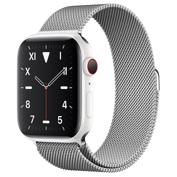 Apple Watch 5 Ceramic 44mm With Milanese Loop