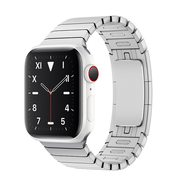 Apple Watch 5 Ceramic 40mm With Silver Link Bracelet