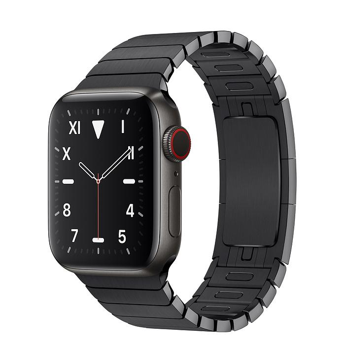 Apple Watch 5 Space Black Titanium Case 40mm with Space Black LinkBracelet