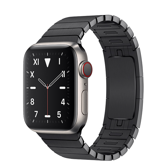 Apple Watch 5 Titanium Case 40mm with Space Black LinkBracelet