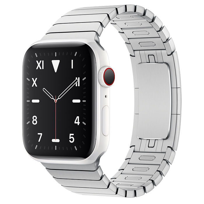 Apple Watch 5 Ceramic 44mm With Silver Link Bracelet