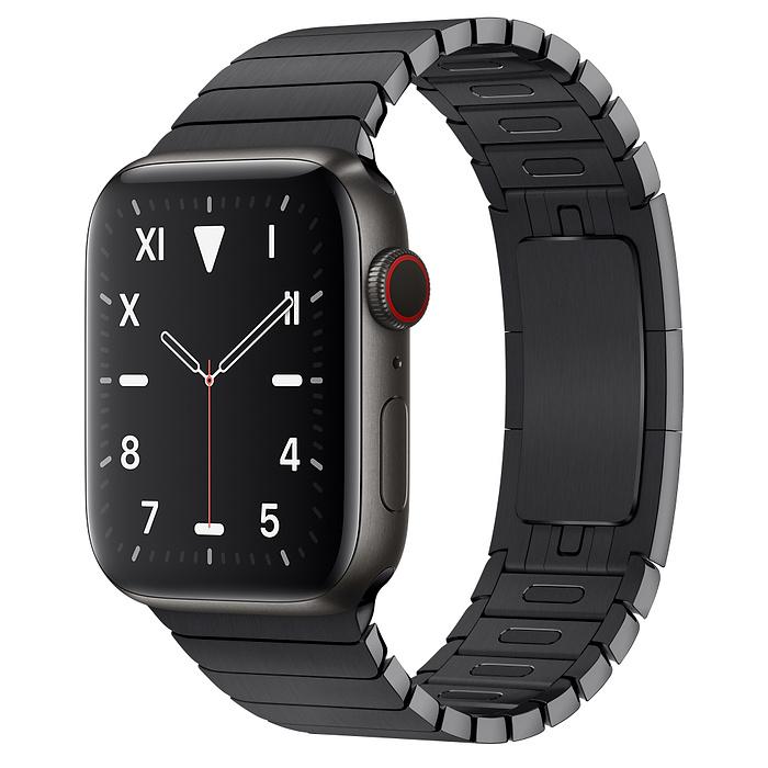 Apple Watch 5 Space Black Titanium Case 44mm with Space Black LinkBracelet