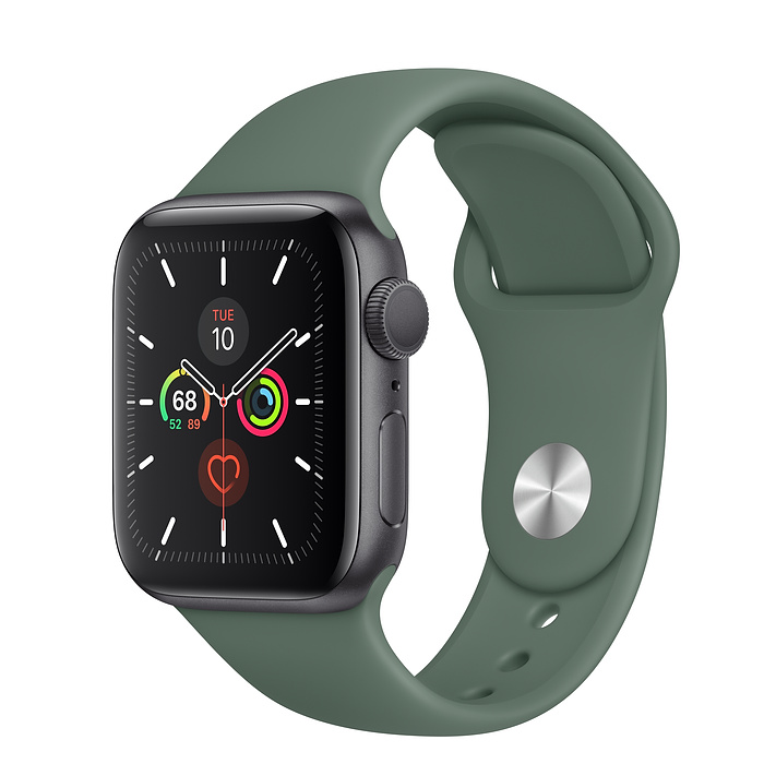 Apple Watch Series 5 GPS 40MM Gray / Pin Green