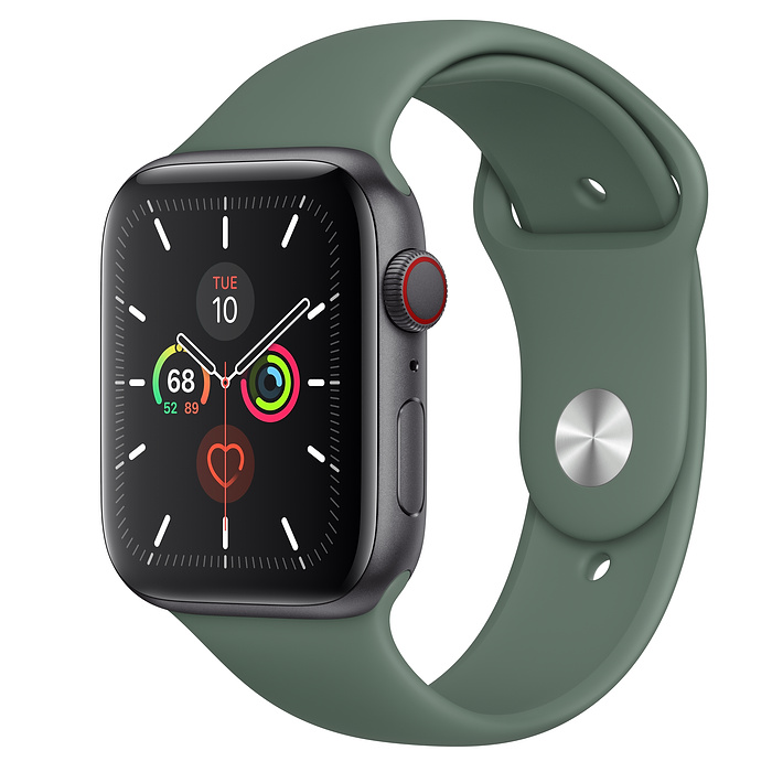 Apple Watch Series 5 LTE 44MM Gray / Pin Green