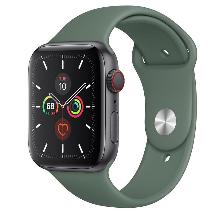 Apple Watch Series 5 LTE 44MM Gray / Pin Green