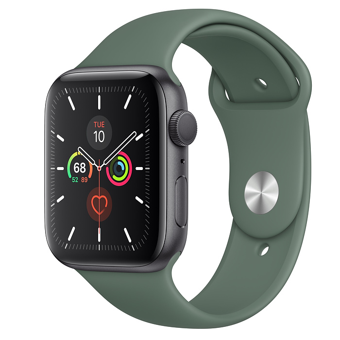 Apple Watch Series 5 GPS 44MM Gray / Pin Green