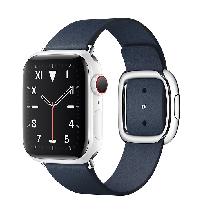 Apple Watch 5 Ceramic 40mm With Deep Sea Blue Modern Buckle