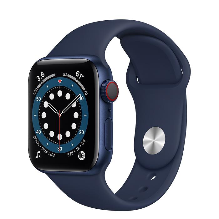 Apple Watch 6 LTE 40mm Blue Sport Band