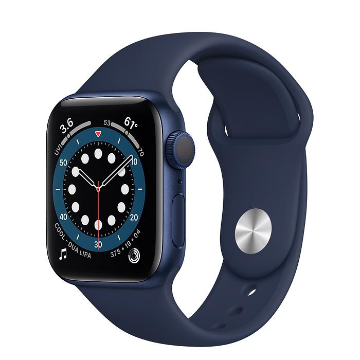 Apple Watch 6 GPS 40mm Blue Sport Band MG143