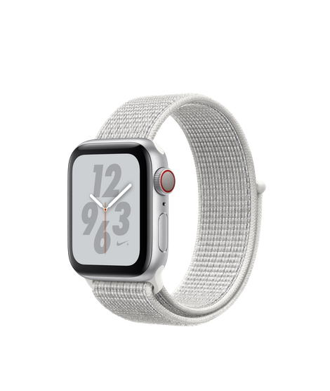 Apple Watch Series 4 LTE 40MM Nike+ Silver/White Sport Loop - MTX72