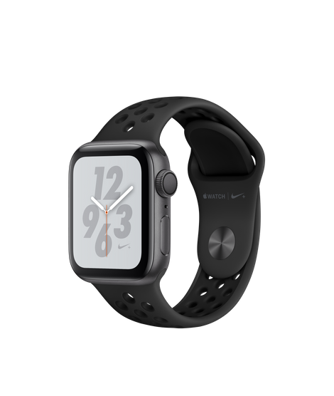 AW4 GPS 40MM Nike+ Space Gray Aluminum Case with Anthracite/Black Nike Sport Band