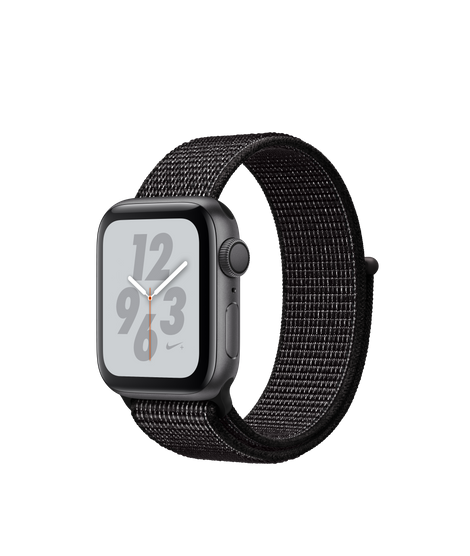 AW4 GPS 40MM Nike+ Space Gray Aluminum Case with Black Nike Sport Loop