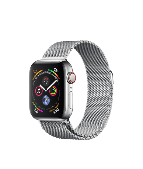 Apple Watch Series 4 40MM Stainless Steel / Milanese Loop - MTUM2