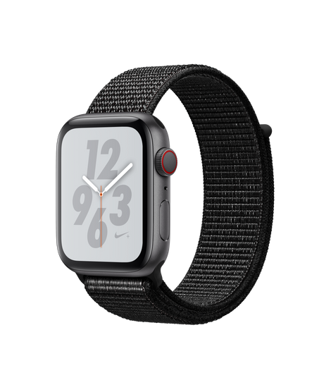Apple Watch Series 4 LTE 44MM Nike+ Gray / Black Sport Loop - MTXD2