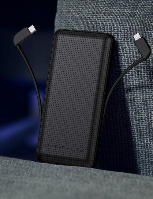 SẠC DỰ PHÒNG HYPERJUICE LIGHTNING + USB-C 18W 10000 MAH ( Tặng Balo trị giá 1.000.000 đ)