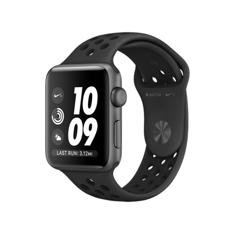 Apple Watch 38MM NIKE GRAY / BLACK MQKY2