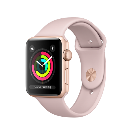 Apple Watch SERIES 3 (GPS) 42MM GOLD / PINK MQL22
