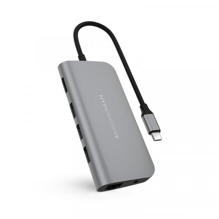 Hyper Drive Power 9 In 1 USB-C hub HD30F
