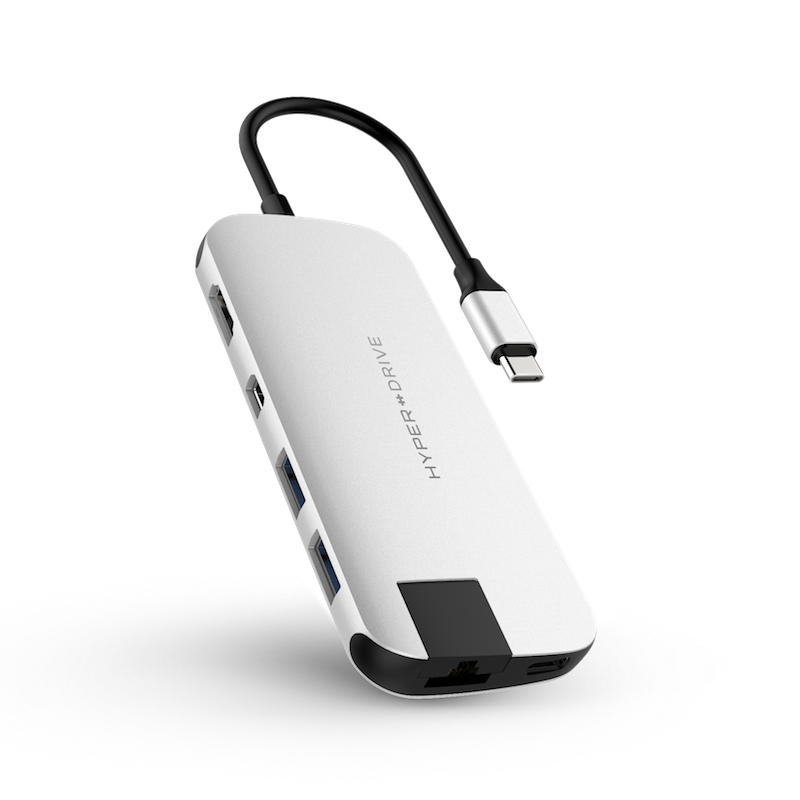 HyperDrive SLIM 8-in-1 USB-C Hub - HD247B