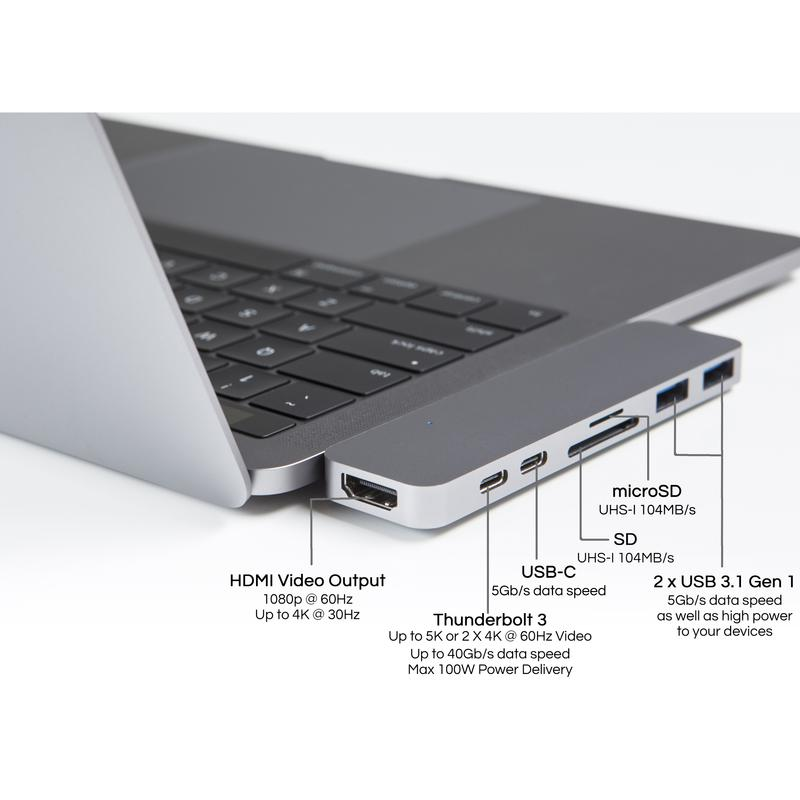 "HyperDrive DUO USB-C Hub for MB Pro 13"" & 15"" 2016/2017"