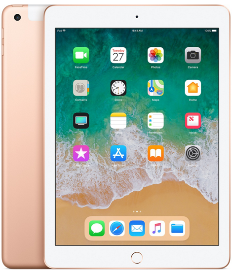 iPad 2018 Cellular 32GB Gold