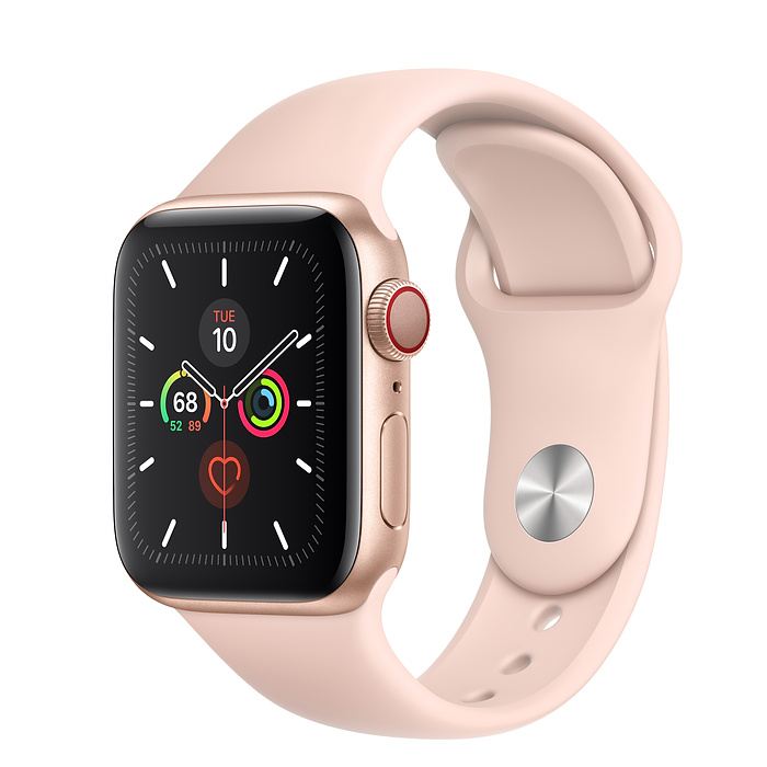 Apple Watch Series 5 LTE 40MM Gold / Pink Sport Band