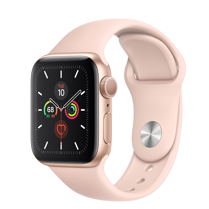 Apple Watch Series 5 GPS 40MM Gold / Pink Sport Band