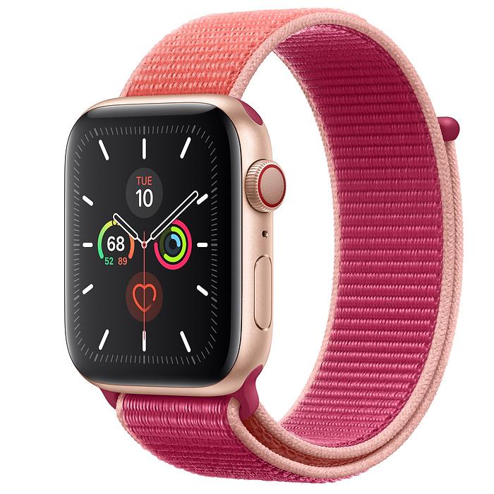 Apple Watch Series 5 LTE 44MM Gold / Pomegranate