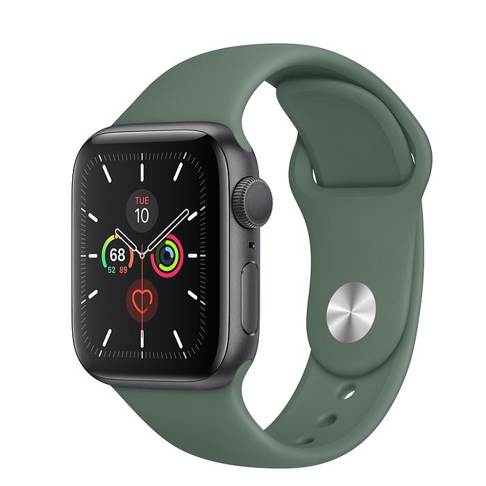 Apple Watch Series 5 GPS 40MM Gray / Pin Green