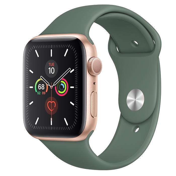 Apple Watch Series 5 GPS 44MM Gold / Pin Green
