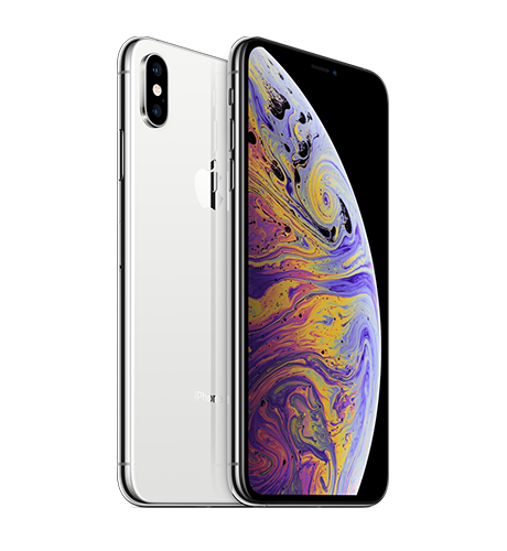 iPhone XS MAX 64GB ( 2 Sim ) SILVER